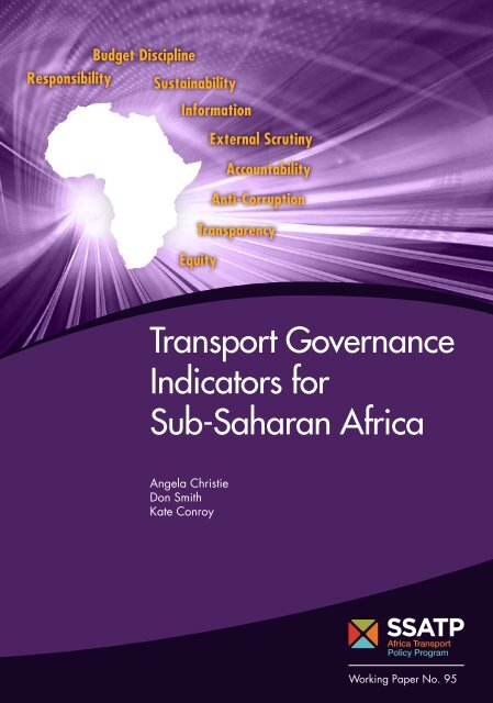 SSATPWP95-Governance-Indicators