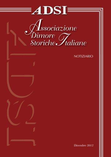 Scarica l'allegato - Associazione Dimore Storiche Italiane