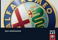 4) Manuale alfa romeo 147 - SPV Solo Per Voi