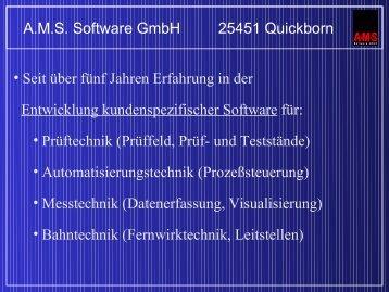 Output: Analog Voltage or Digital Signal (SPI) - AMS Software Gmbh