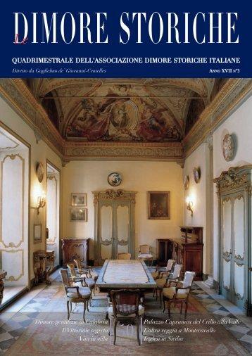 plancia dimore 56_57#8C46 - Associazione Dimore Storiche Italiane