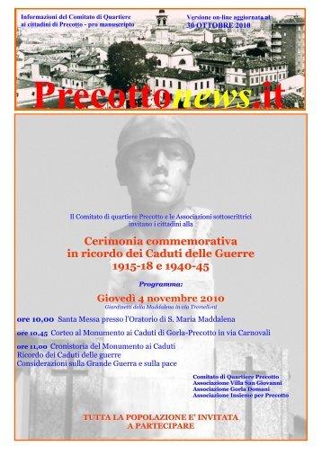 n. 10 - novembre online 2010 - Chi siamo
