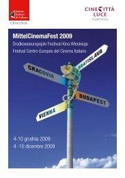 mittel cinema fest 2009 program