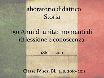 Laboratorio didattico Storia - IIS Bachelet