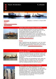 29 april - Haven Amsterdam