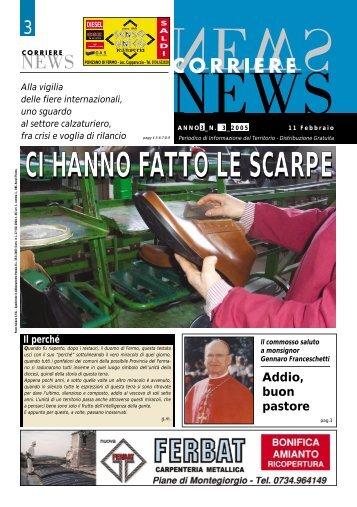 CI HANNO FATTO LE SCARPE - Corriere News