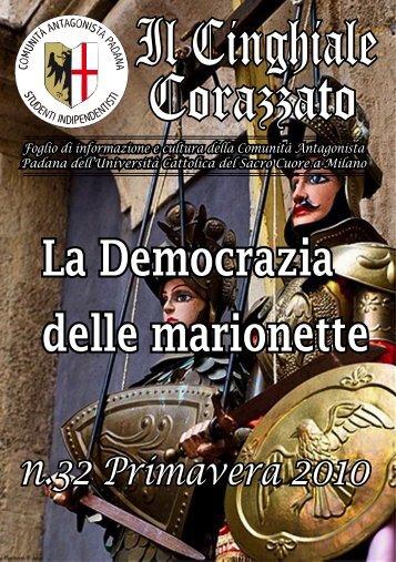Il Cinghiale Corazzato - Comunità Antagonista Padana