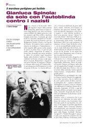 Gianluca Spinola: da solo con l'autoblinda contro i nazisti - Anpi