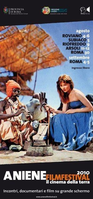 la locandina - Cinema Farnese