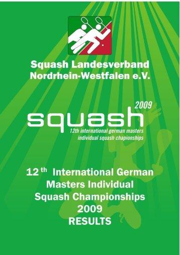 Ergebnisse - 1. Squash Club Beindersheim