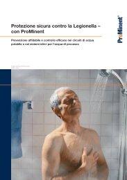 Legionella - ProMinent Italiana S.r.l.
