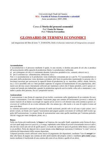 Università degli Studi del Sannio - Scienze economiche e aziendali ...