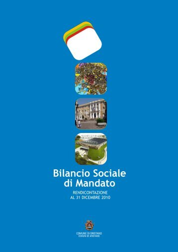 Bilancio Sociale di Mandato - Comune di Oristano