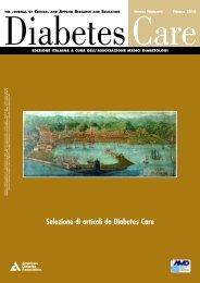 Num. 37 - Febbraio 2010 - Infodiabetes.it