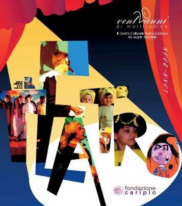 scarica il file completo in pdf - Centro Culturale Teatro Camuno