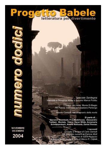 Speciale Sardegna - Centro Studi e Ricerche Aleph