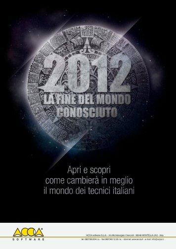Catalogo Nuovi Prodotti SAIE 2012 - Tecno 3D