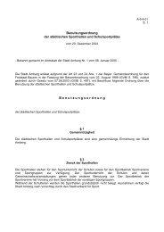 A-6-4-01 Benutzungsordnung der städtischen ... - Stadt Amberg