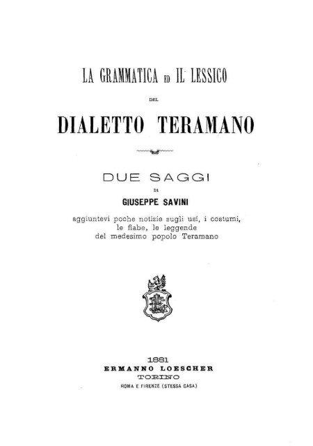 Cartina Muta Dell Abruzzo.Dialetto Teramano Abruzzo In Mostra