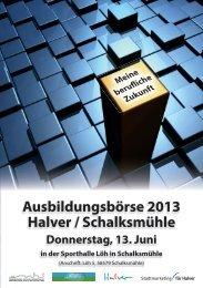 Ausbildungsboerse-Broschuere-2013 - in Schalksmühle