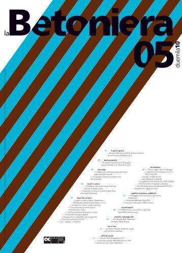 Date ottobre 2010 Titolo La betoniera 05 2010 3.21 MB