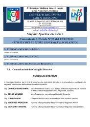 CU 23 SGS.pdf... - FIGC Comitato Regionale Emilia Romagna