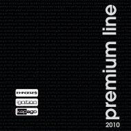 Premium line - Schall & Rauch