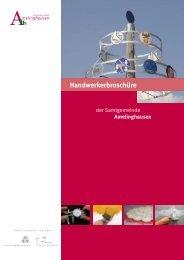 die Handwerkerbroschüre als PDF - Amelinghausen