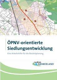ÖPNV-orientierte Siedlungsentwicklung - Landkreis Ammerland