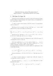 Architettura degli Elaboratori I - Esercitazione 1 - TWiki