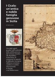 I Cicala: un'antica e nobile famiglia genovese in Sicilia - Banca Carige