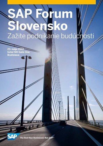 SAP Forum slovensko