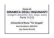 metodi statistici di elaborazione dei dati ambientali - Università degli ...