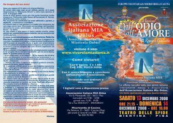 Scarica la Brochure completa ( file pdf 1,3 Mb ) - Associazione ...