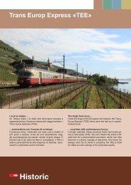 Trans Europ Express «TEE» - SBB Historic