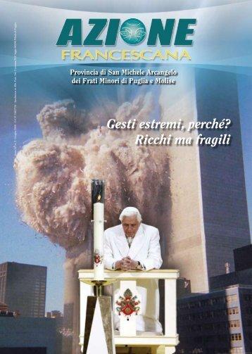 Gesti estremi, perché? Ricchi ma fragili - Provincia di San Michele ...