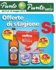dal 2 al 12 maggio 2013 - Simply Market