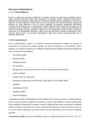 MANUALE DI CAMPIONAMENTO a cura di: Roberto Mastracci ...