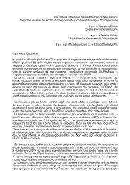 lettera di dimissioni - ufficiale giudiziario su internet - UIUG