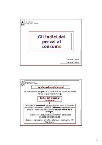 Onesti&Mason - Scienze Economiche e Statistiche