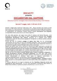 Docucity 7-9 maggio 2013 - Università degli Studi di Milano