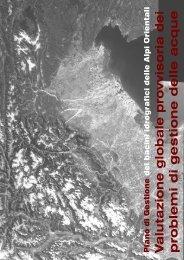 3. Valutazione globale provvisoria dei problemi di ... - Alpi Orientali