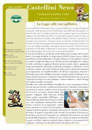 La Legge sulle cure palliative - Le note del sorriso