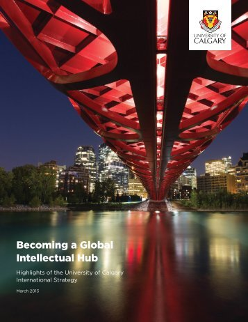 Becoming a Global Intellectual Hub