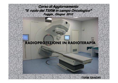 radioprotezione per pazienti con carcinoma prostatico