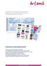 Sie planen eine Kundenbindungsmaßnahme ... - Artemis Werbeartikel