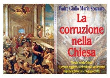 La corruzione nella Chiesa - Gesù e Maria