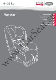 Max-Way 9 – 25 kg - CarSeat.se