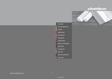 Gruppenflyer - Schattdecor