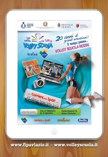 clicca qui e scarica la brochure Volley Scuola 2013 - Creare e ...